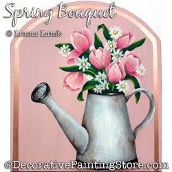 Spring Bouquet (Tulips) DOWNLOAD Painting Pattern - Lonna Lamb