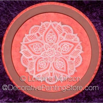 Royal Lace Doily Plaque ePattern - Lorraine Morison - PDF DOWNLOAD