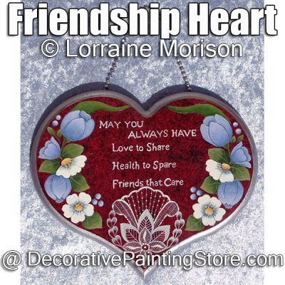 Friendship Heart ePattern - Lorraine Morison - PDF DOWNLOAD