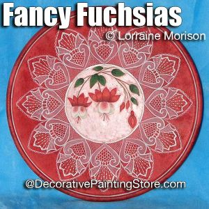 Fancy Fuchsias Pattern - Lorraine Morison - PDF DOWNLOAD