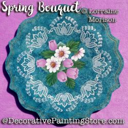Spring Bouquet Pattern - Lorraine Morison - PDF DOWNLOAD