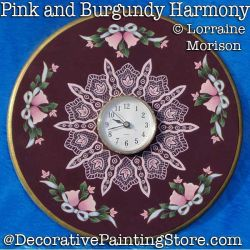Pink and Burgundy Harmony DOWNLOAD - Lorraine Morison