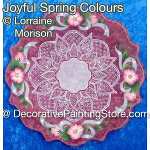 Joyful Spring Colours Pattern - Lorraine Morison - PDF DOWNLOAD