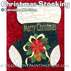 Christmas Stocking Pattern - Lorraine Morison - PDF DOWNLOAD