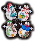 Snowmen and Friends Pattern PDF DOWNLOAD