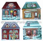 Here Comes Winter-House Ornaments Pattern PDF DOWNLOAD