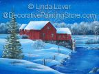 Winter Evening ePacket by Linda Lover - PDF DOWNLOAD