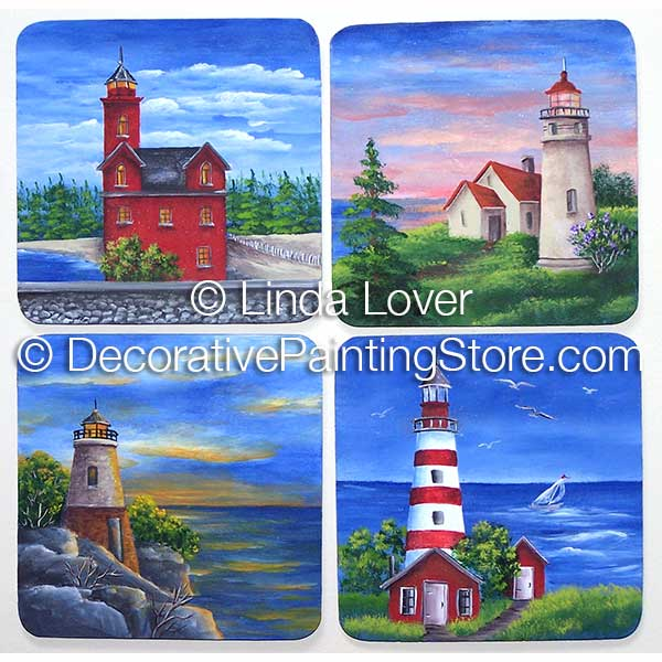 Lighthouse Miniatures ePacket by Linda Lover - PDF DOWNLOAD