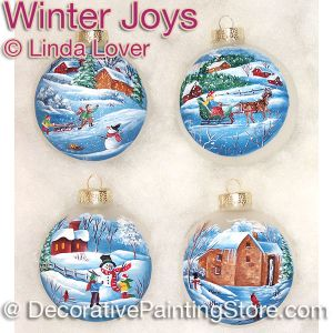 Winter Joys ePacket by Linda Lover - PDF DOWNLOAD