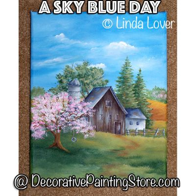 A Blue Sky Day ePacket by Linda Lover - PDF DOWNLOAD