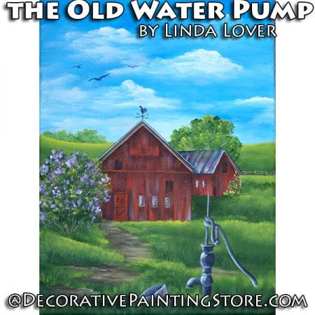 The Old Water Pump ePacket by Linda Lover - PDF DOWNLOAD
