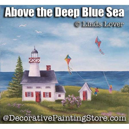 Above the Deep Blue Sea ePacket by Linda Lover - PDF DOWNLOAD