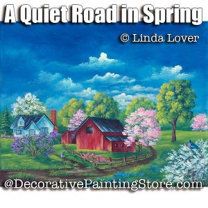 A Quiet Road in Spring ePacket by Linda Lover - PDF DOWNLOAD