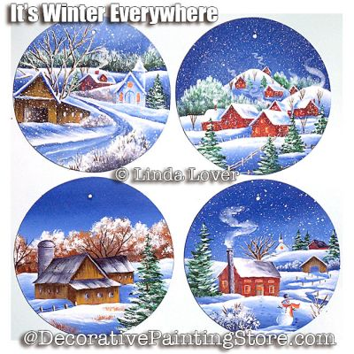 Its Winter Everywhere ePacket by Linda Lover - PDF DOWNLOAD