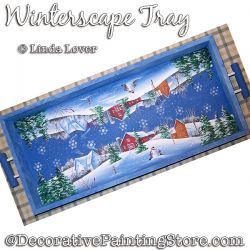 Winterscape Tray DOWNLOAD - Linda Lover