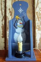 Winter Magic Wall Shelf e-Pattern - Linda Samuels - PDF DOWNLOAD