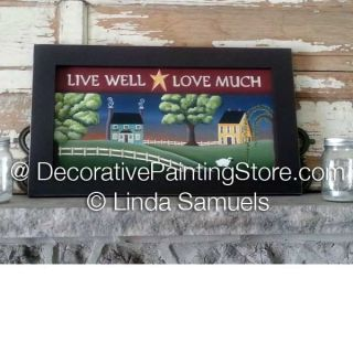 Saltbox Village Pattern - Linda Samuels - PDF DOWNLOAD