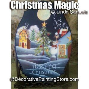 Christmas Magic ePattern - Linda Samuels - PDF DOWNLOAD