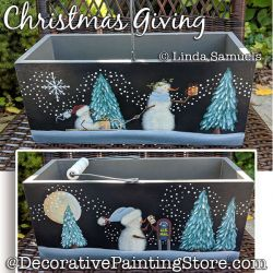 Christmas Giving Painting Pattern PDF Download - Linda Samuels