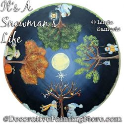 Its a Snowmans Life Painting Pattern PDF Download - Linda Samuels