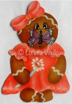 Butterfly Gingerbread Girl ePattern