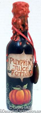 Pumpkin Juice Potion Pattern BY DOWNLOAD