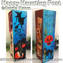 Happy Haunting Post e-Pattern -Sandra Malone - PDF DOWNLOAD