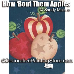 How Bout Them Apples e-Pattern -Sandra Malone - PDF DOWNLOAD