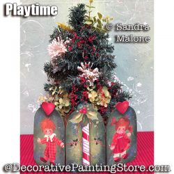 Play Time e-Pattern -Sandra Malone - PDF DOWNLOAD