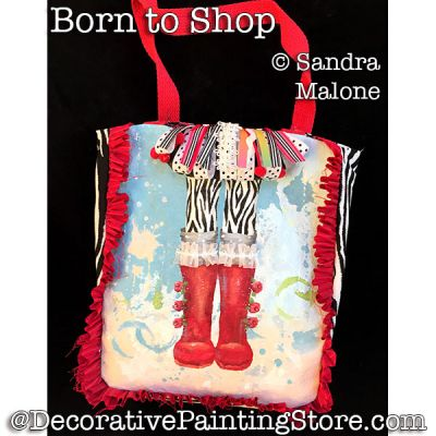 Born to Shop PDF DOWNLOAD -Sandra Malone
