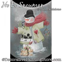 Ho Bo Snowman DOWNLOAD -Sandra Malone