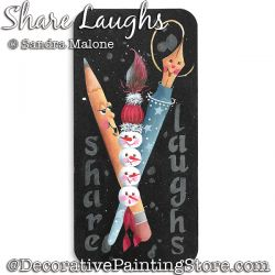 Share Laughs DOWNLOAD Painting Pattern -Sandra Malone