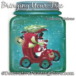 Bringing Your Tree (Snowman) DOWNLOAD -Sandra Malone