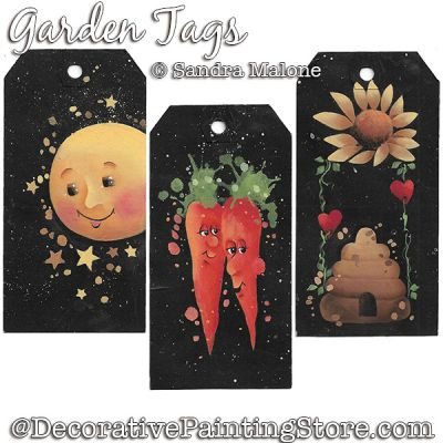 Garden Tags DOWNLOAD -Sandra Malone