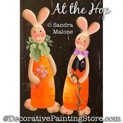 At the Hop Painting Pattern PDF DOWNLOAD -Sandra Malone