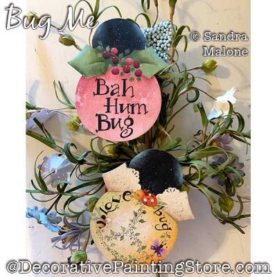 Bug Me Painting Pattern PDF DOWNLOAD -Sandra Malone