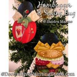 Hambugger and Sewing Bug Pattern PDF DOWNLOAD -Sandra Malone