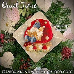 Quiet Time (Gnomes) Painting Pattern PDF DOWNLOAD -Sandra Malone