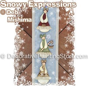 Snowy Expressions - Deb Mishima - PDF DOWNLOAD