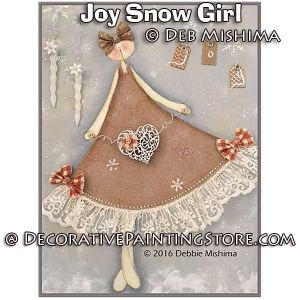 Joy Snowgirl - Deb Mishima - PDF DOWNLOAD