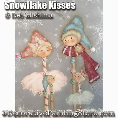 Snowflake Kisses - Deb Mishima - PDF DOWNLOAD