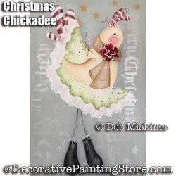 Christmas Chickadee - Deb Mishima - PDF DOWNLOAD