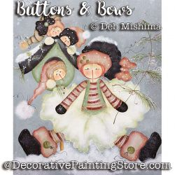 Buttons and Bows - Deb Mishima - PDF DOWNLOAD
