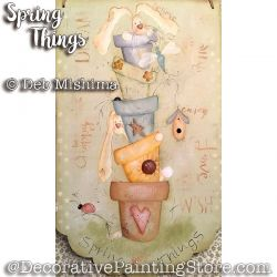 Spring Things - Deb Mishima - PDF DOWNLOAD