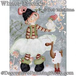 Winter Friends DOWNLOAD - Deb Mishima