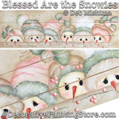 Blessed Are the Snowies DOWNLOAD - Deb Mishima