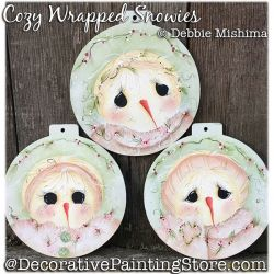Cozy Wrapped Snowies DOWNLOAD - Deb Mishima