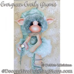 Evergreen Everly Gnome DOWNLOAD - Deb Mishima