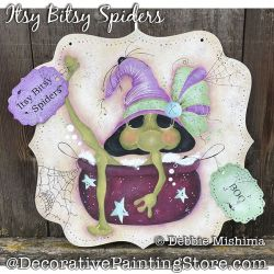 Itsy Bitsy Spiders (Frog) DOWNLOAD - Deb Mishima