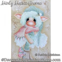 Minty Maisie Gnome DOWNLOAD - Deb Mishima